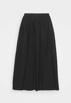 SKIRT - A-linjekjol - black