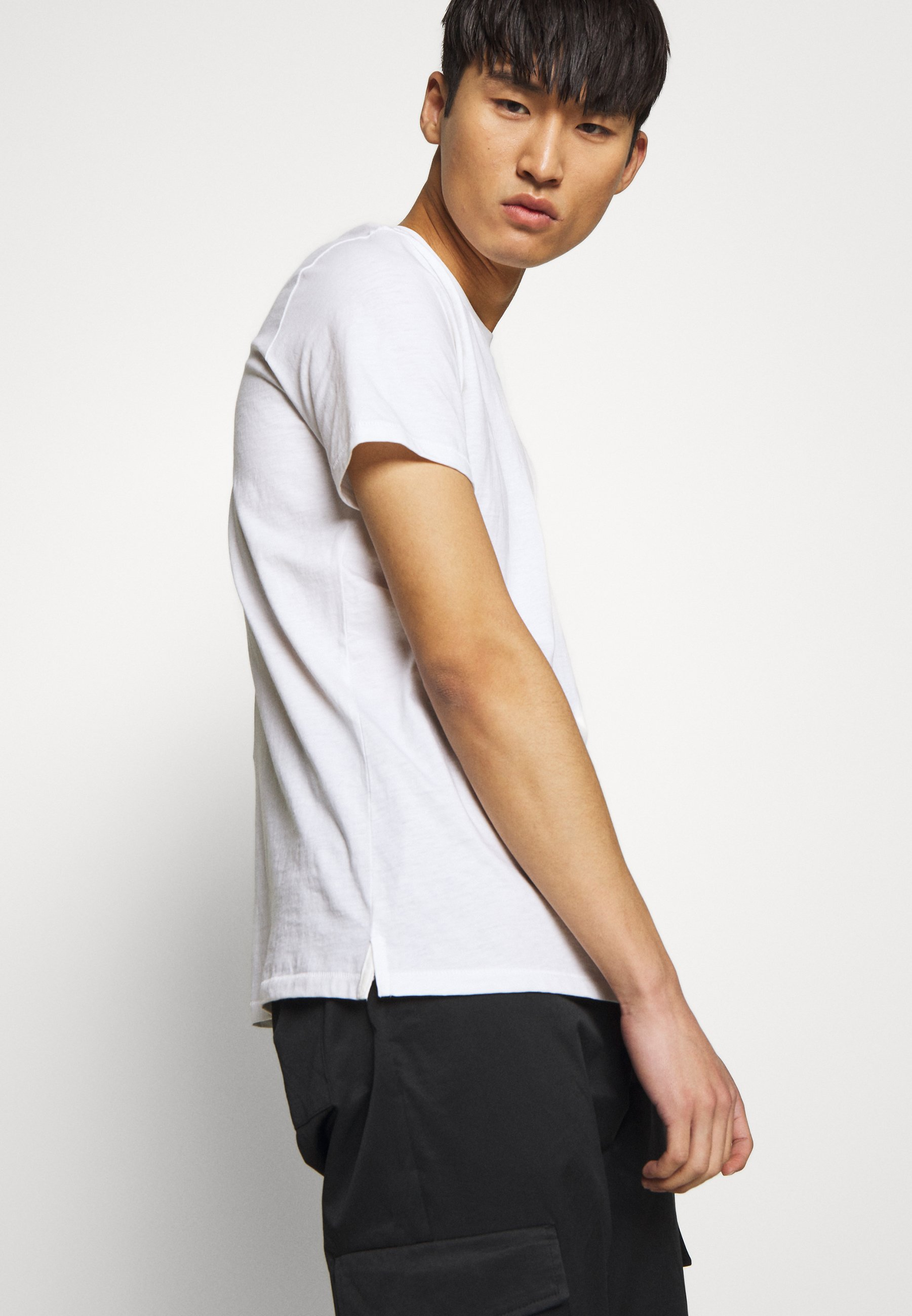 rag & bone SMALL DAGGER - T-shirt imprimé - white