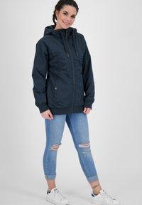 alife & kickin - Outdoor jacket - marine - 1