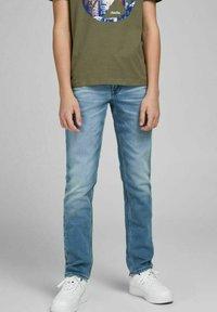 Jack & Jones Junior - GLENN ORIGINAL GE - Jeans slim fit - blue denim - 0