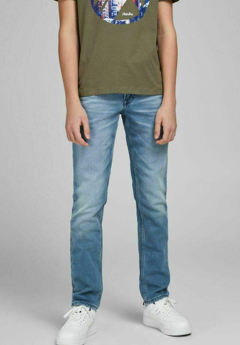 Jack & Jones Junior - GLENN ORIGINAL GE - Jeans slim fit - blue denim