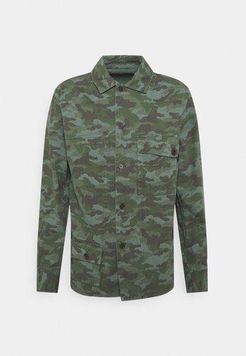 REVERSIBLE OVERSHIRT - Summer jacket - army green