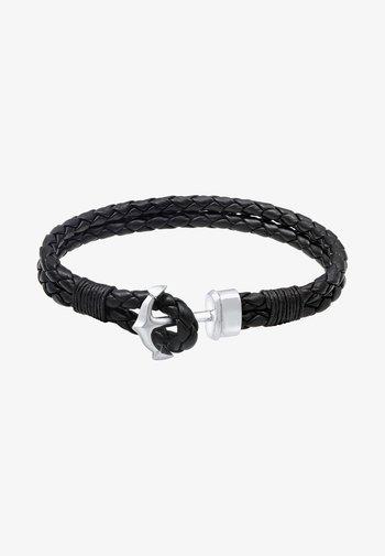 ANCHOR CHUNKY - Armband - black