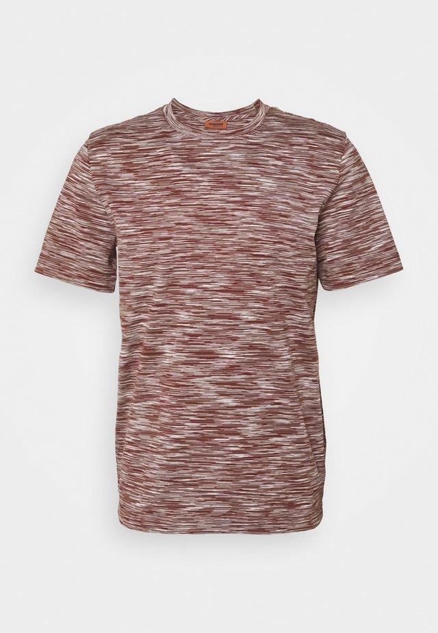 MANICA CORTA - T-shirt print - brown