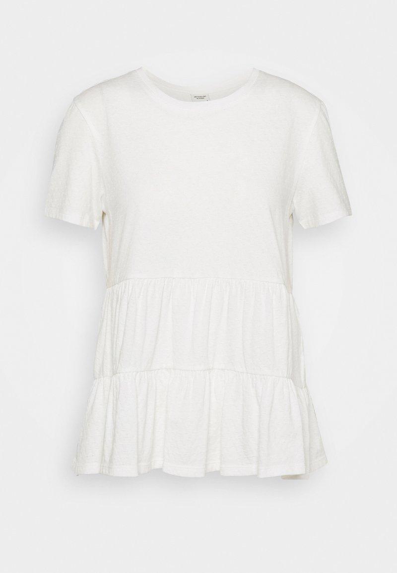 JDY - JDYSELMA LIFE LAYERED - Print T-shirt - cloud dancer