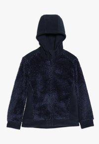 Jack Wolfskin - PINE CONE JACKET KIDS - Fleece jacket - night blue - 0