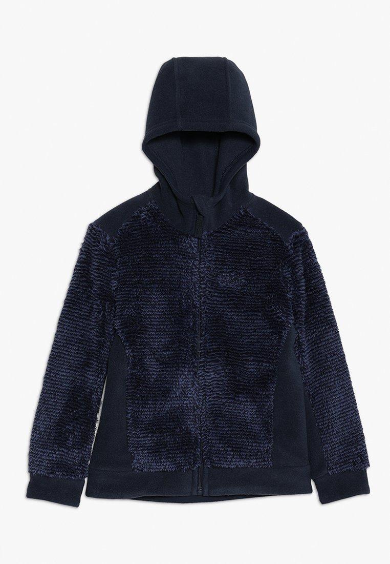 Jack Wolfskin - PINE CONE JACKET KIDS - Fleece jacket - night blue