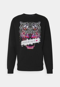 SAVAGED CREW - Sweatshirt - black