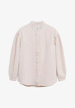 CARAMEL - Denim jacket - rosa pastel