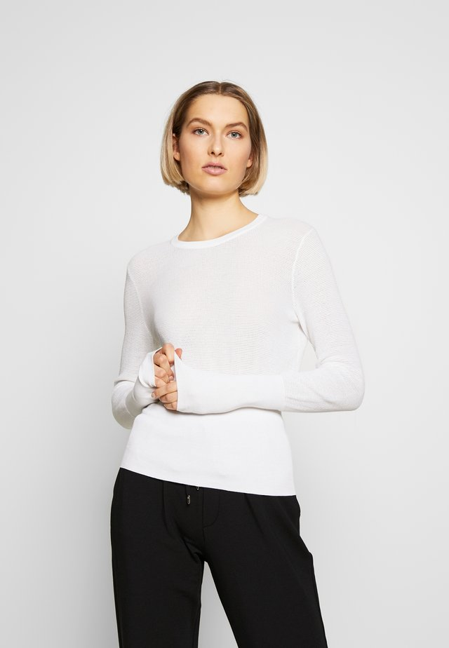 KAINA - Sweter - optic white
