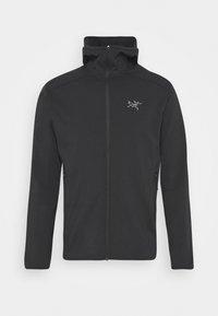 Arc'teryx - KYANITE LT HOODY MENS - Fleece jacket - black - 4