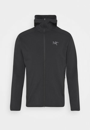 KYANITE HOODY MEN'S - Fleece jacket - black