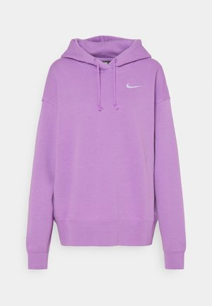 HOODIE TREND - Mikina - violet shock/white