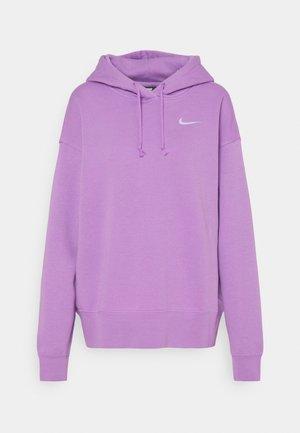 HOODIE TREND - Sweatshirt - violet shock/white