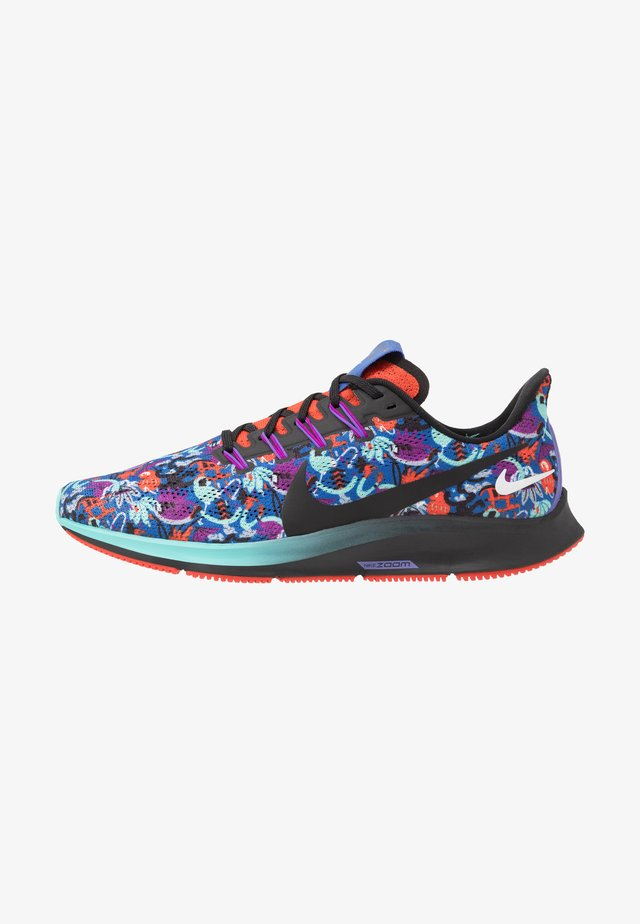 AIR ZOOM PEGASUS 36 AS - Obuwie do biegania treningowe - team orange/black/light aqua/laser blue/psychic purple/wolf grey