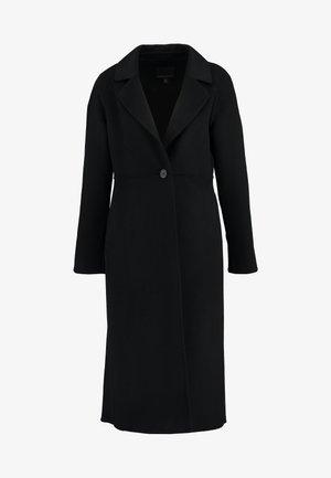 I DOUBLE FACE LONG - Classic coat - black