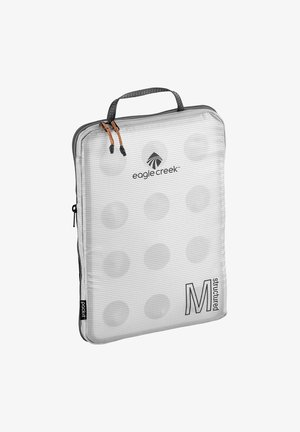 PACK-IT STRUCTURED CUBE  - Wash bag - black/white