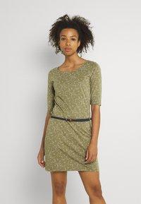 Ragwear - TAMY - Žerzejové šaty - khaki - 0