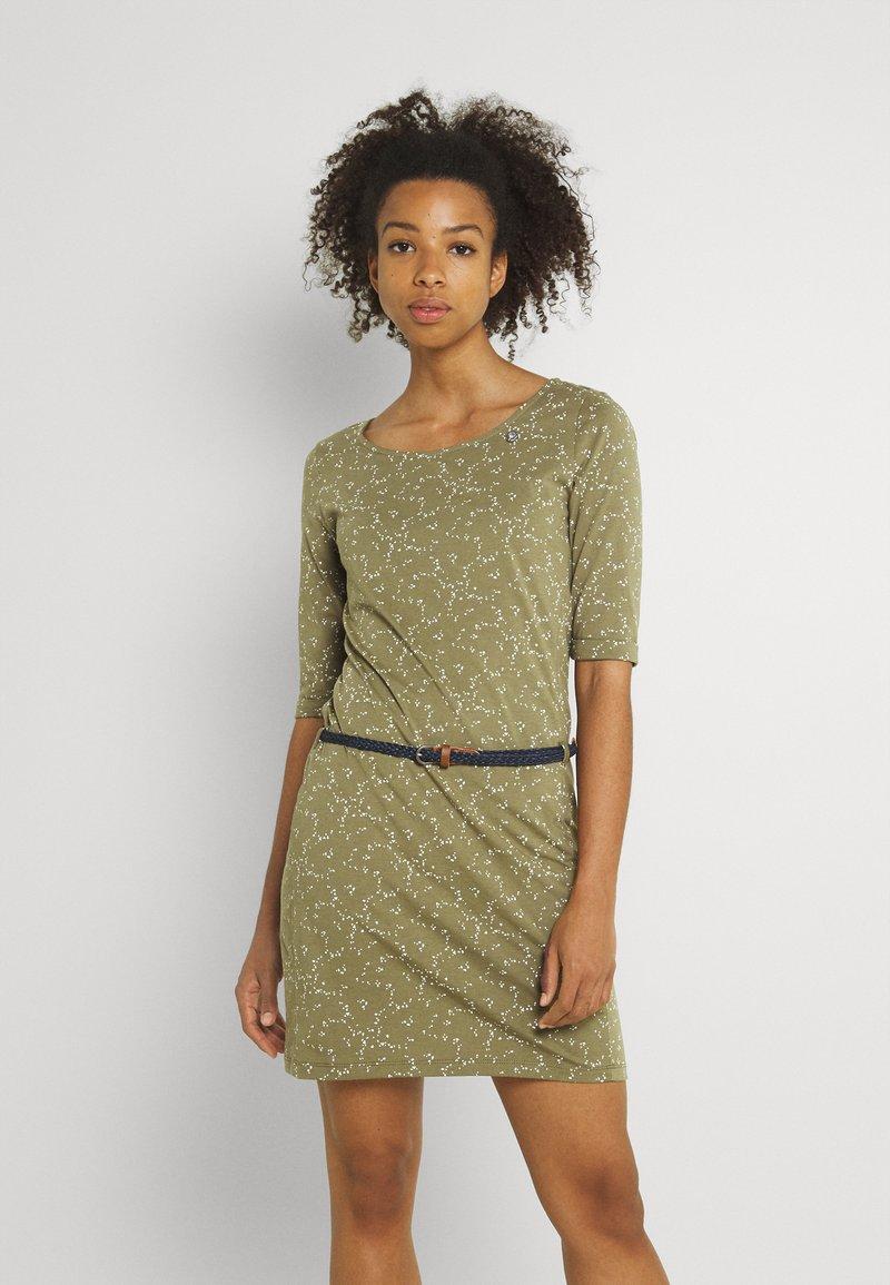 Ragwear - TAMY - Žerzejové šaty - khaki
