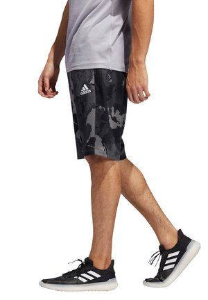 Sports shorts - grau/schwarz