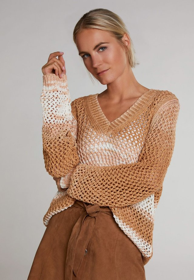Jumper - beige gold