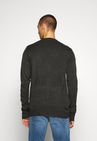 Brave Soul - WHITLAW - Kardigan - charcoal/french navy - 2