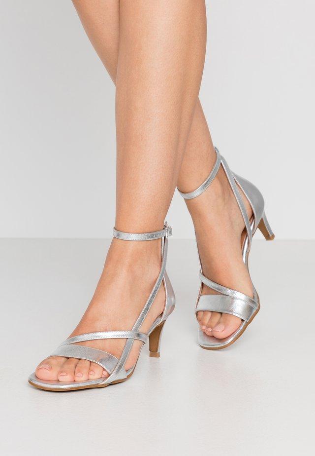 ROSANNA STRAP - Sandals - silver