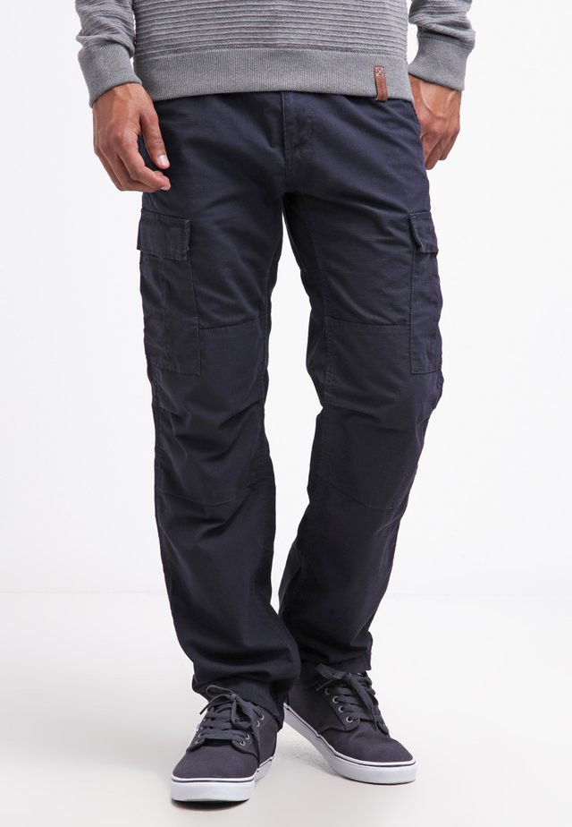 AVIATION PANT COLUMBIA - Kapsáče - dark navy rinsed