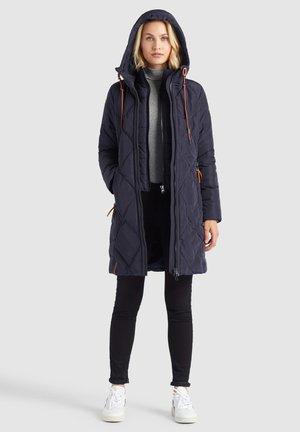 ELESSA - Winter coat - dunkelblau