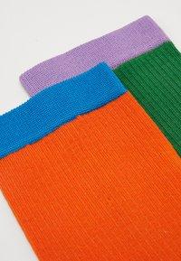 Hysteria by Happy Socks - CREW SOCK 2 PACK - Calcetines - green/orange - 1