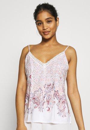 MIX & MATCH CAMISOLE - Pyžamový top - white
