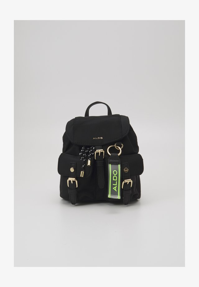 LORESWEN - Rucksack - jet black/gold-coloured