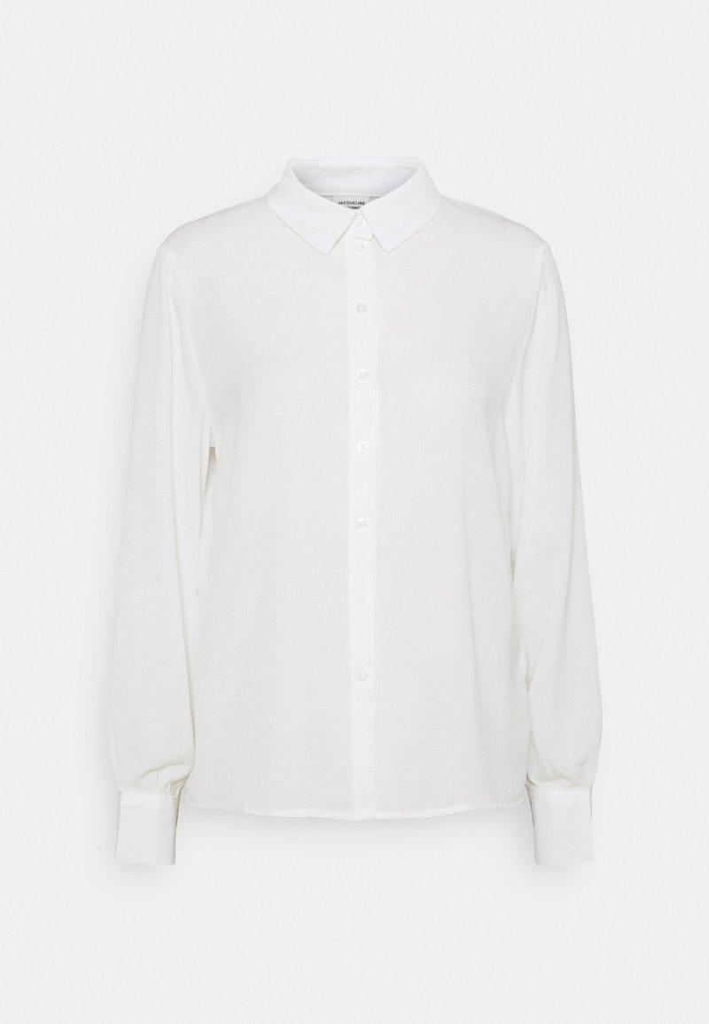 JDY - JDYMADDIE - Button-down blouse - cloud dancer