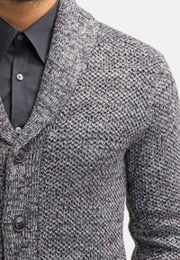 Pier One - Cardigan - dark grey melange - 4