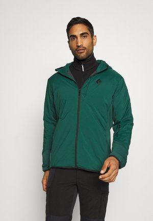 FIRST LIGHT HYBRID HOODY - Softshelljacke - forest