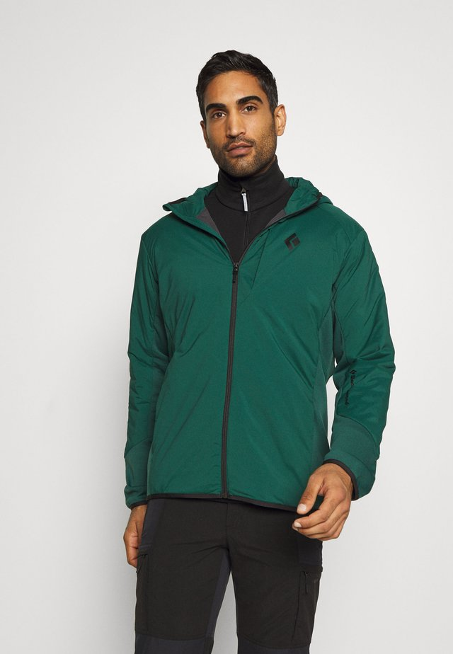 FIRST LIGHT HYBRID HOODY - Softshell jakker - forest