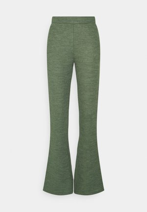 VIMILES FLARED PANT - Trousers - garden green