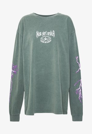 THUNDERSTRUCK LONG SLEEVE TEE - Camiseta de manga larga - green