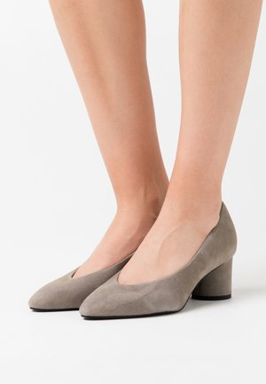COURT SHOE - Classic heels - light grey