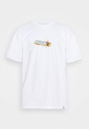 CHOCOLATE BAR - T-shirts print - white