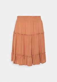 ICHI - MARRO - A-line skirt - sunburn - 0