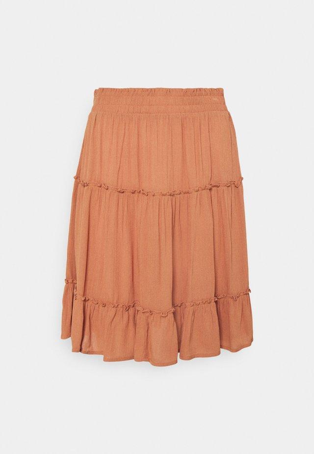 MARRO - A-line skirt - sunburn