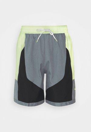 THROWBACK SHORT NARRATIVE - Sports shorts - smoke grey/barely volt/black