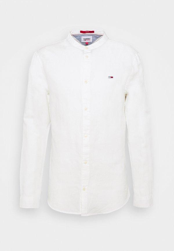 Tommy Jeans MAO BLEND - Koszula - white/biały Odzież Męska GHVW