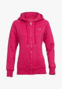 Winshape - Zip-up sweatshirt - deep pink - 3