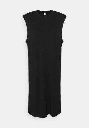 SERENITY DRESS - Žerzejové šaty - black