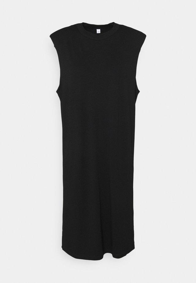 SERENITY DRESS - Jerseyjurk - black