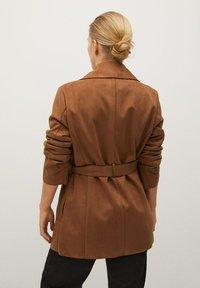 Violeta by Mango - CLARA - Short coat - bruin - 2