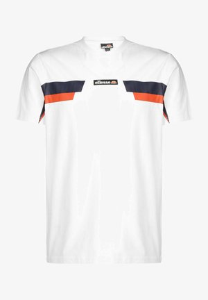 FELLION TEE - T-shirt imprimé - white