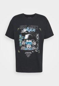 Night Addict - Print T-shirt - black - 4